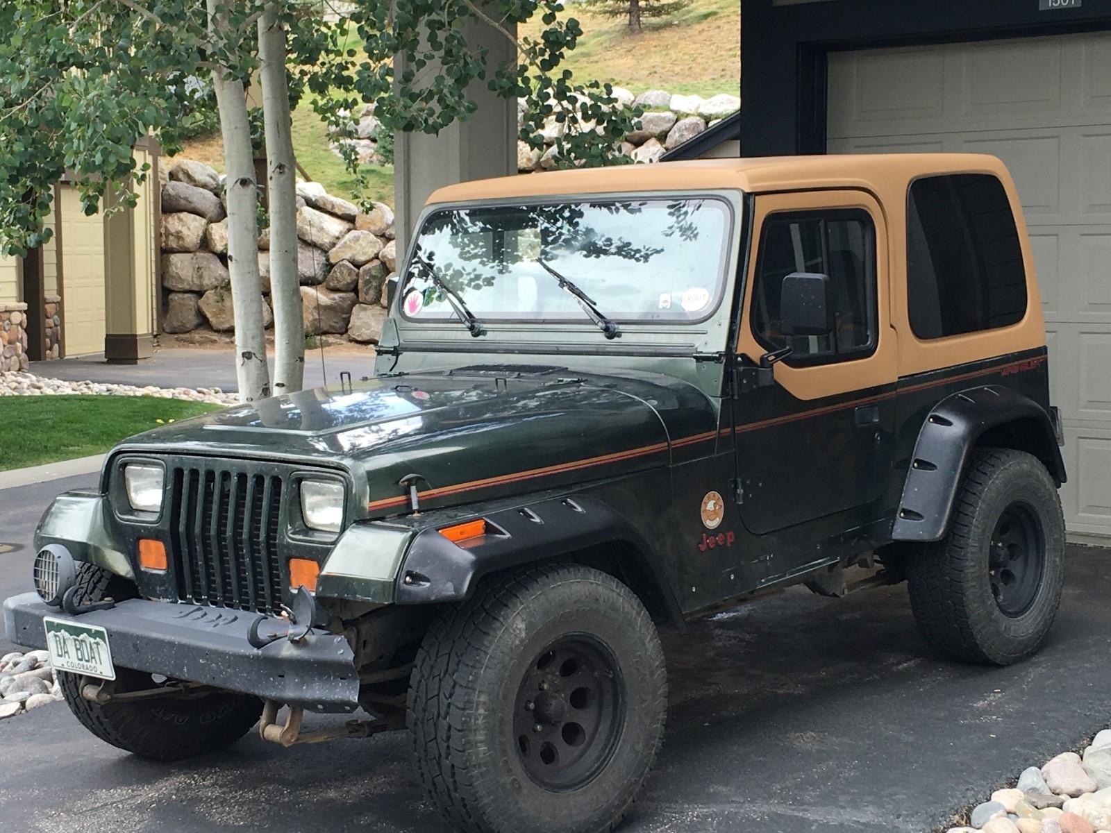Jeep Wrangler I (YJ) 1986 - 1995 SUV #3