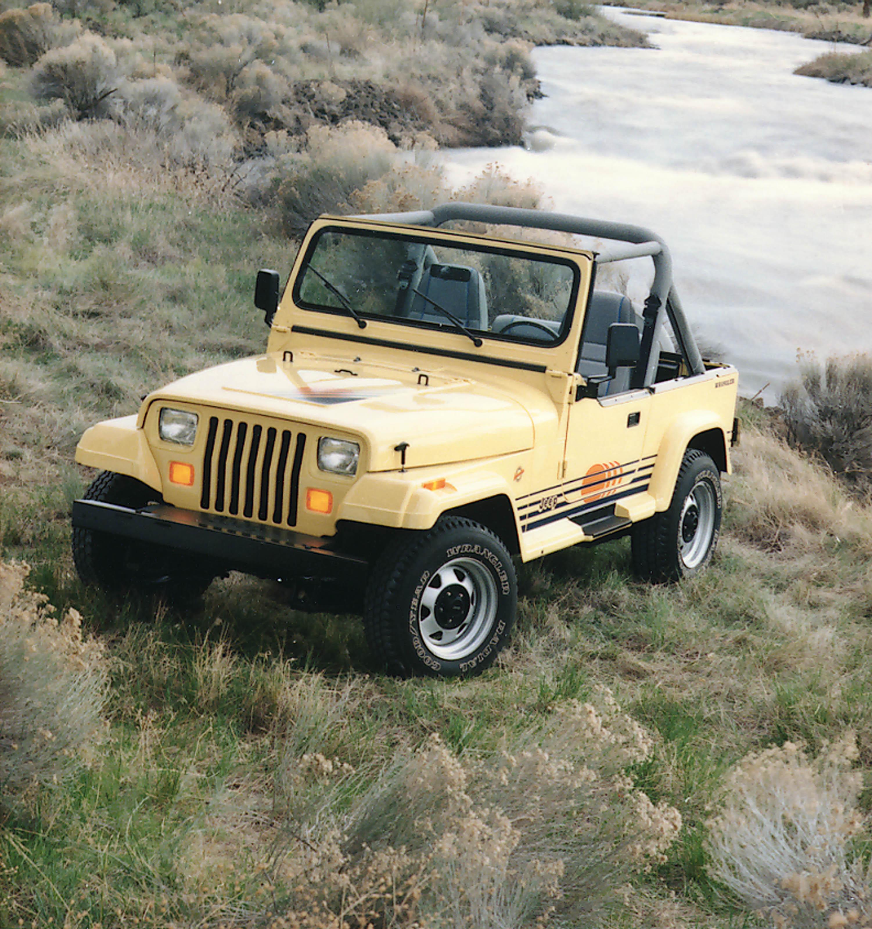Jeep Wrangler I (YJ) 1986 - 1995 SUV #4