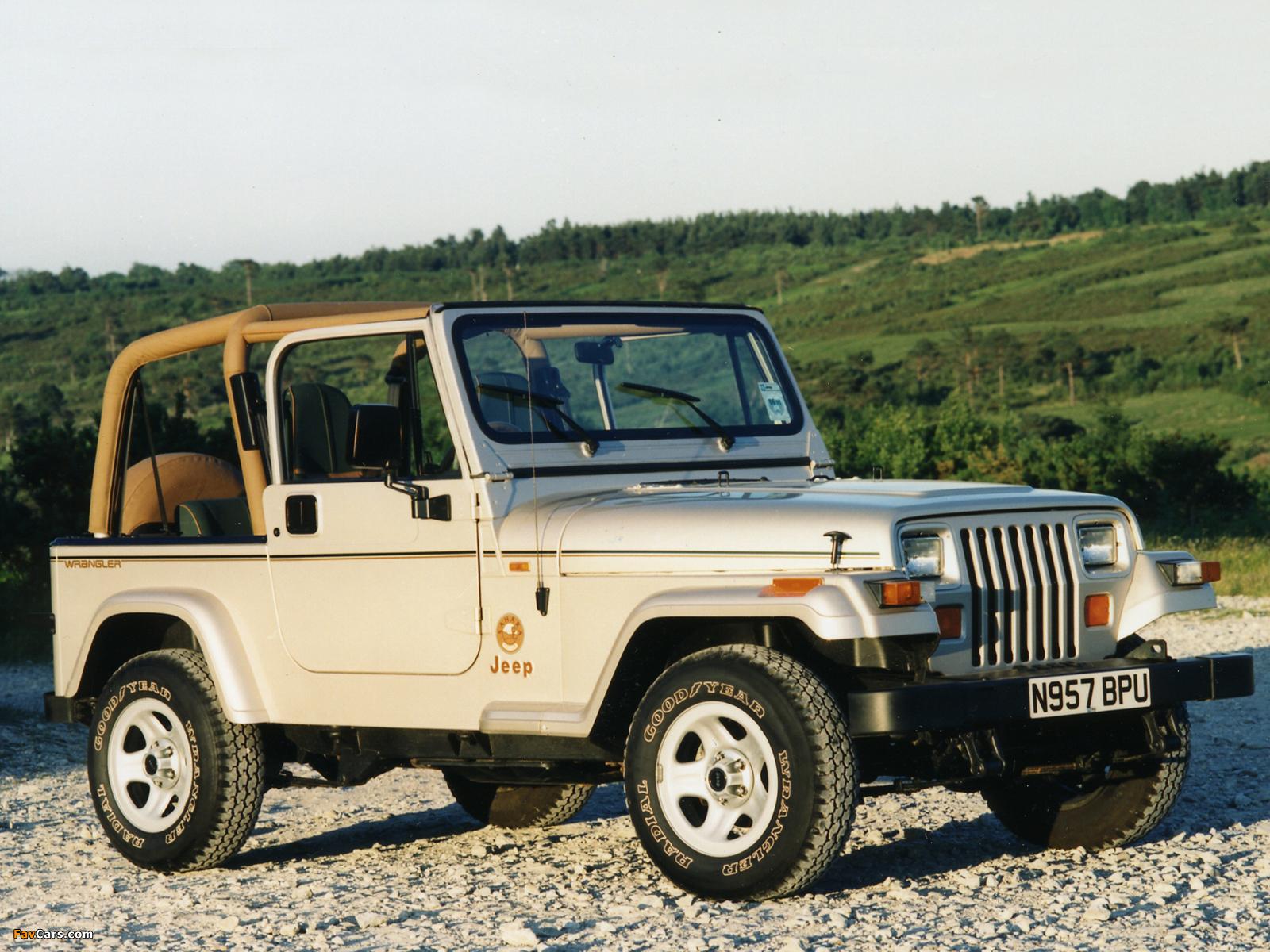 Jeep Wrangler I (YJ) 1986 - 1995 SUV #2