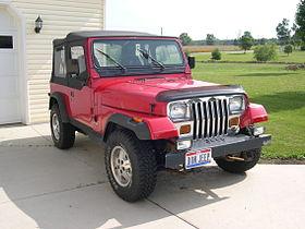 Jeep Wrangler I (YJ) 1986 - 1995 SUV #8