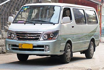 Jinbei Haise I 2000 - now Minivan #2