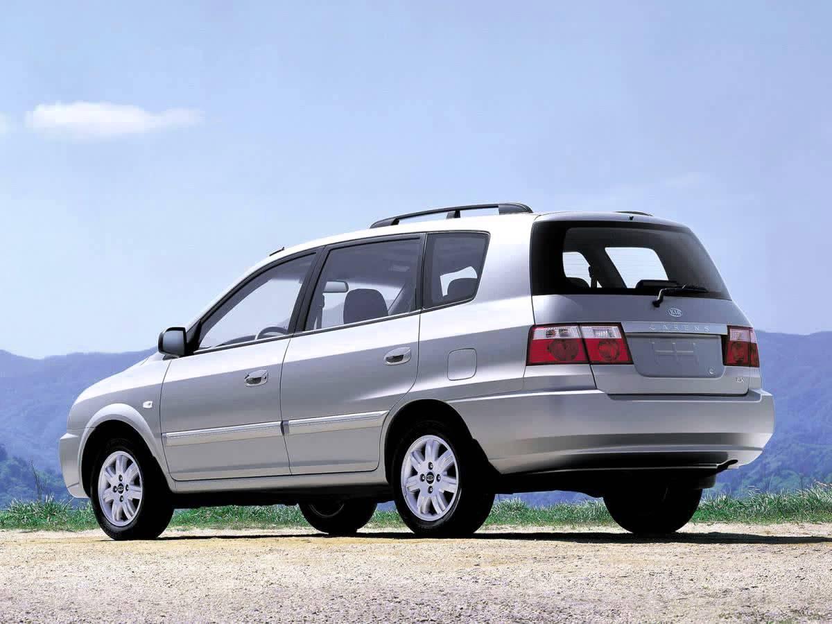 Kia Carens I (RS) Restyling 2002 - 2006 Compact MPV #3