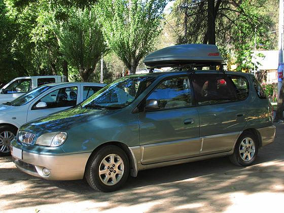 Kia Carens I (RS) Restyling 2002 - 2006 Compact MPV #6