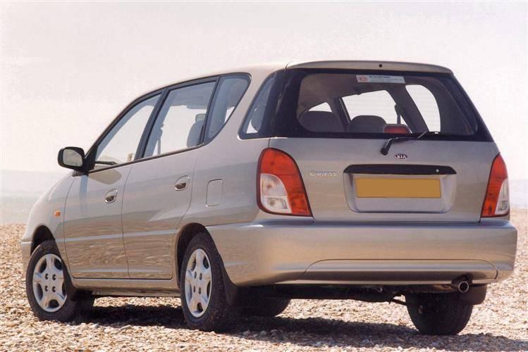 Kia Carens I (RS) Restyling 2002 - 2006 Compact MPV #1