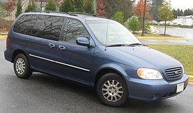 Kia Sedona I 1998 - 2006 Minivan #7