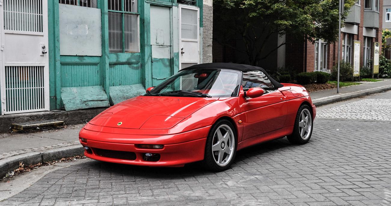Kia Elan 1995 - 1999 Cabriolet #4