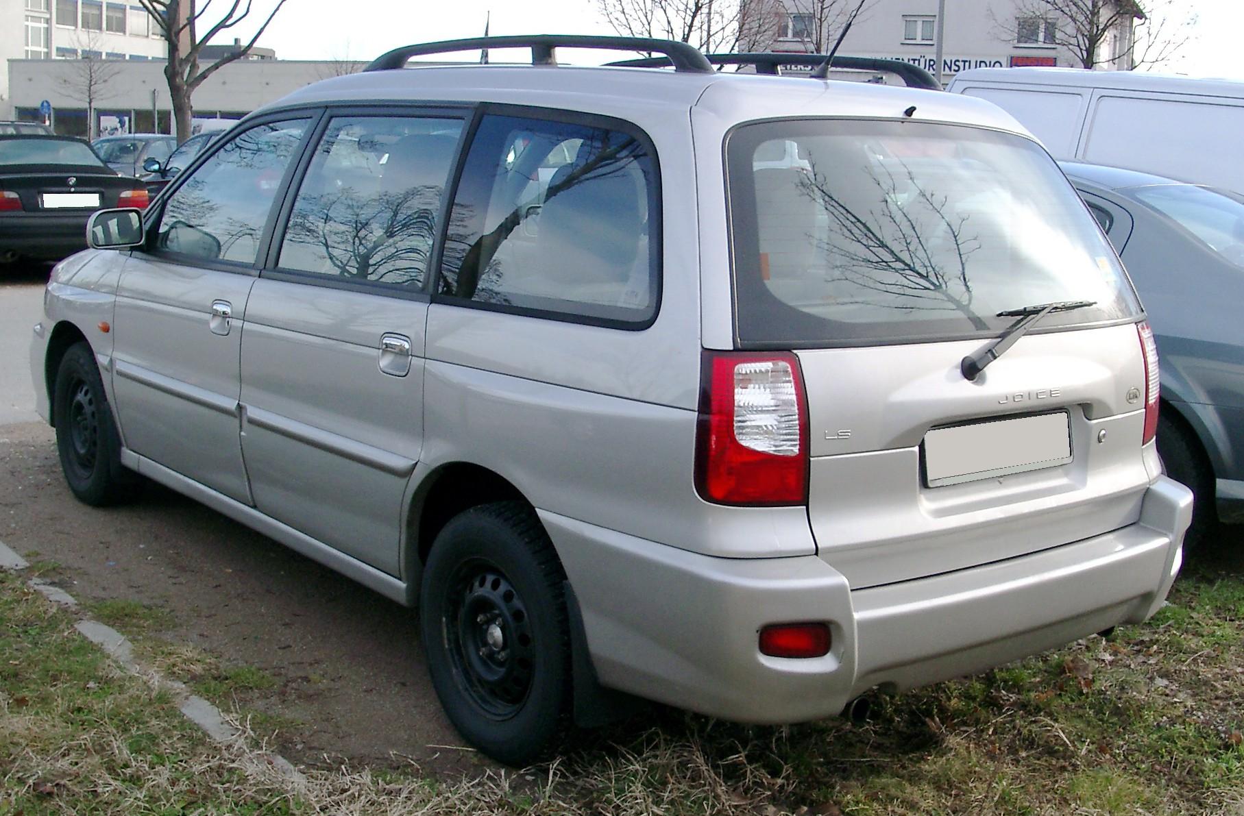 Kia Joice 1999 - 2003 Compact MPV #4