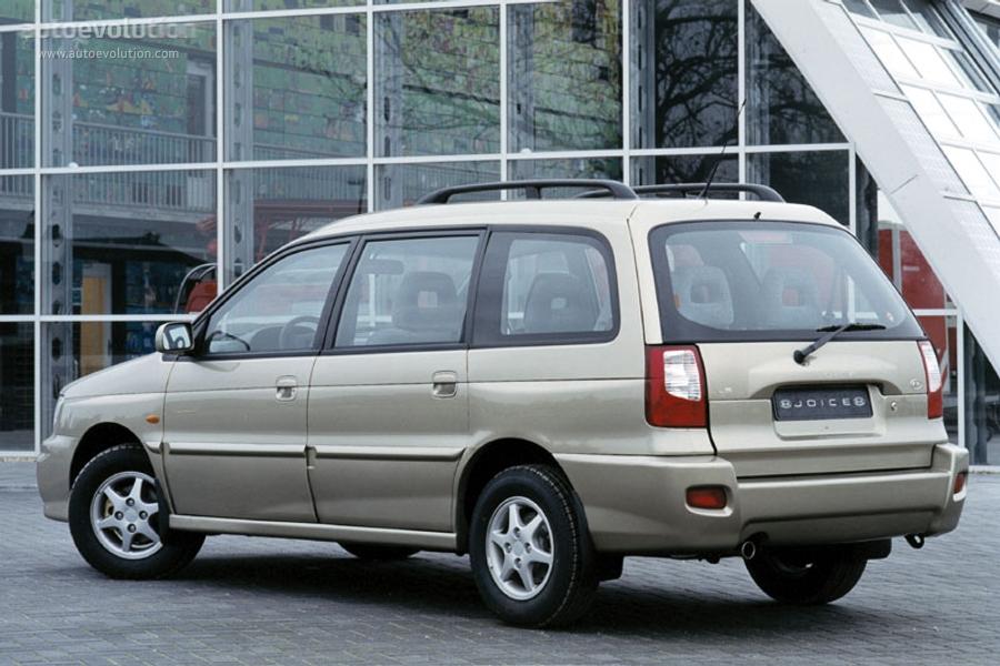Kia Joice 1999 - 2003 Compact MPV #6