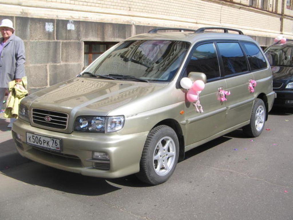 Kia Joice 1999 - 2003 Compact MPV #1