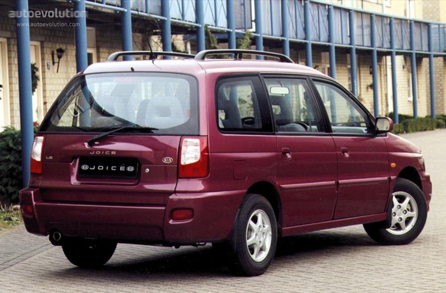 Kia Joice 1999 - 2003 Compact MPV #7
