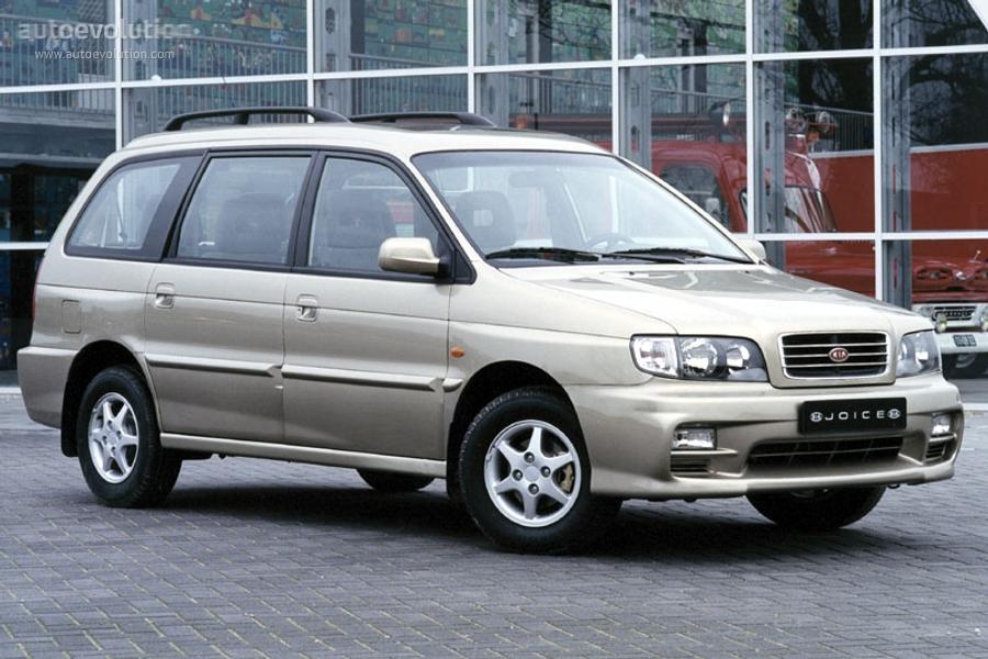 Kia Joice 1999 - 2003 Compact MPV #5