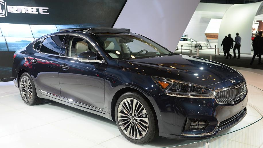 Kia K7 VG (II) 2016 - now Sedan #4