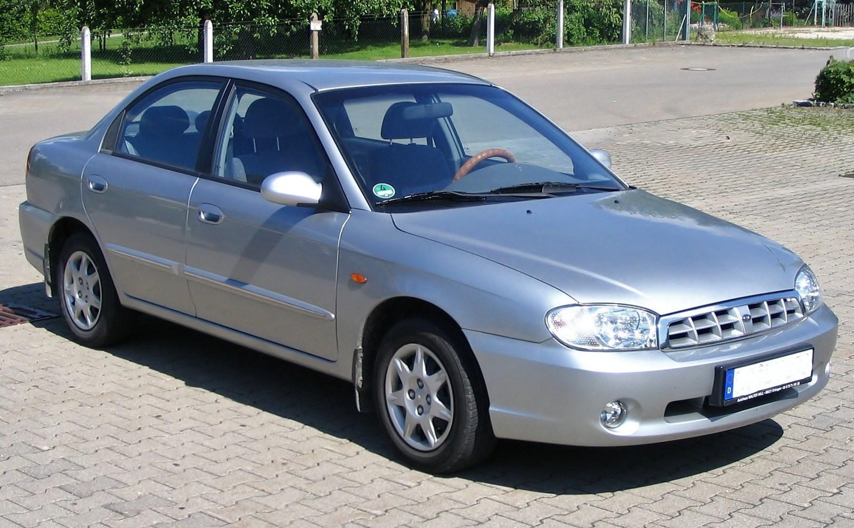 Kia Mentor II 2001 - 2002 Sedan #5