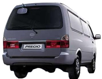 Kia Pregio I 1995 - 2003 Minivan #1