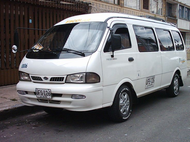 Kia Pregio I 1995 - 2003 Minivan #6