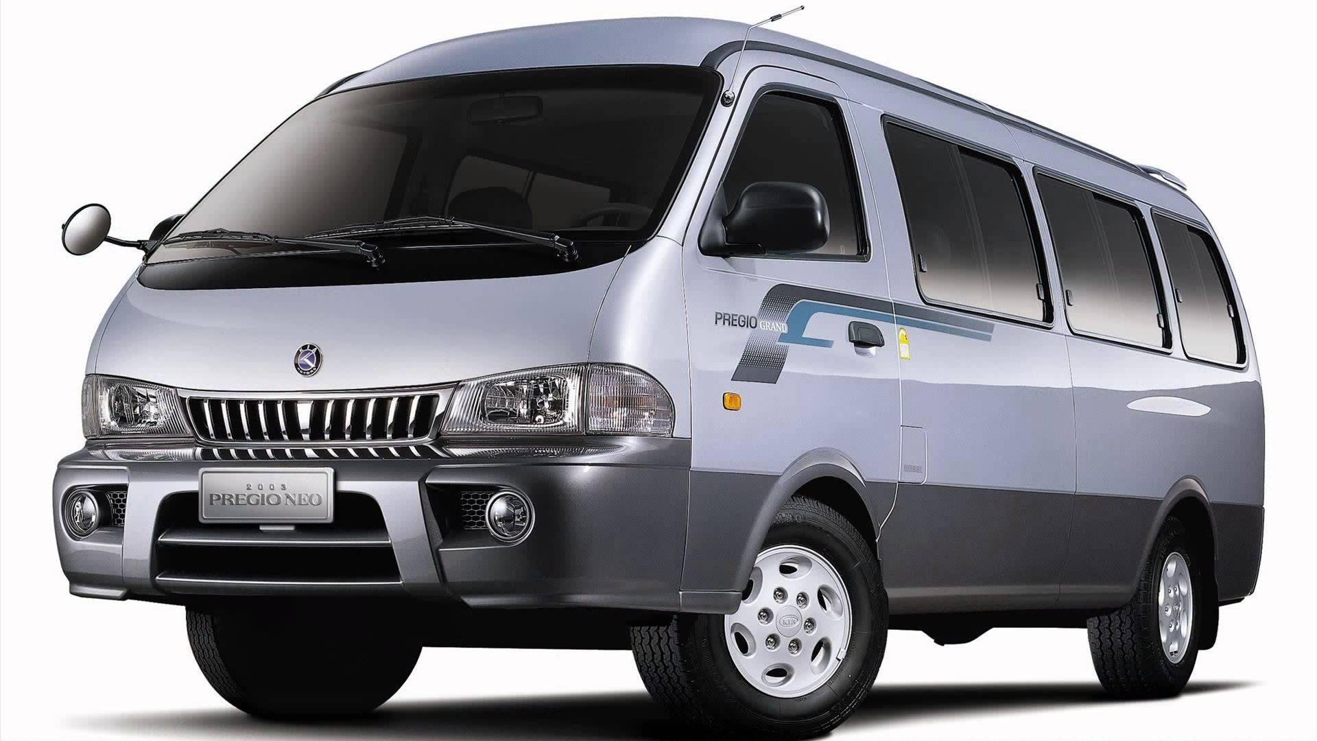Kia Pregio I 1995 - 2003 Minivan #8