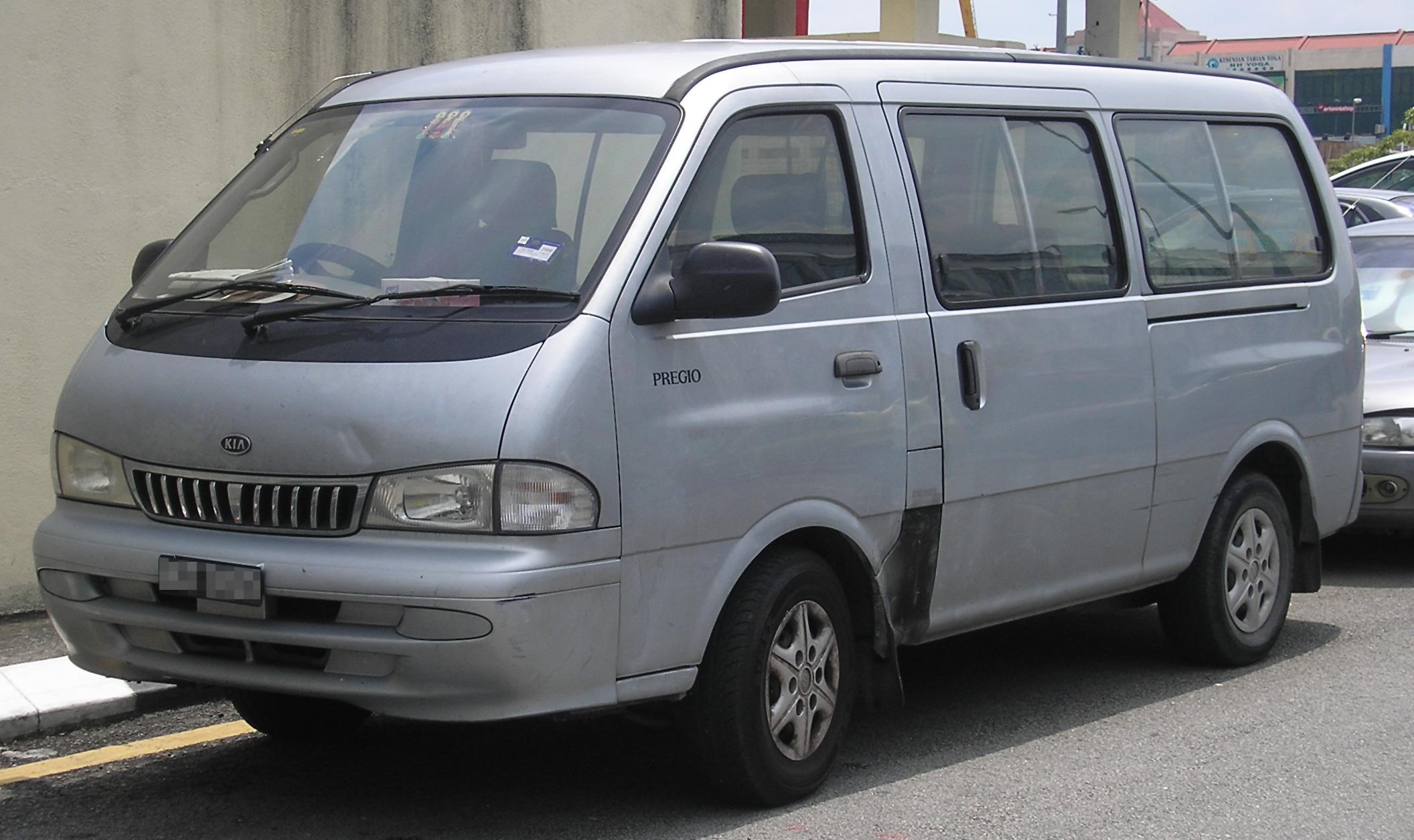 Kia Pregio I 1995 - 2003 Minivan #4