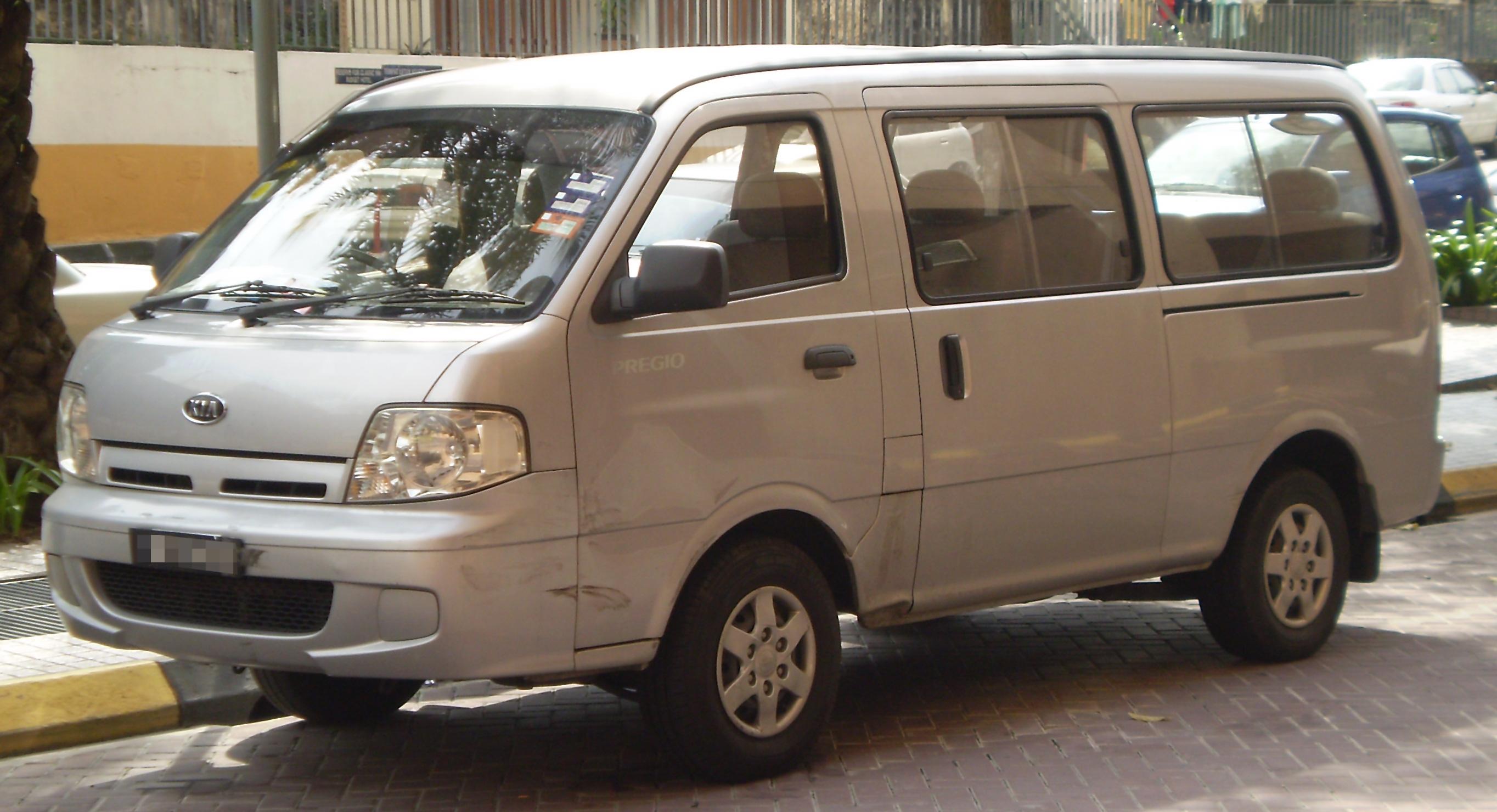 Kia Pregio I Restyling 2003 - 2007 Minivan #4