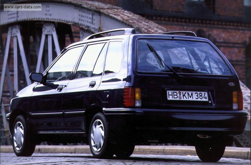 Kia Pride I 1987 - 2000 Hatchback 3 door #1