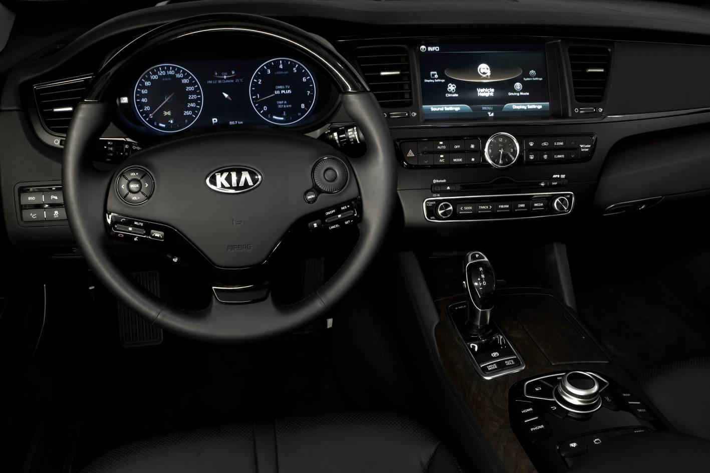 Kia Quoris I 2012 - 2014 Sedan #8