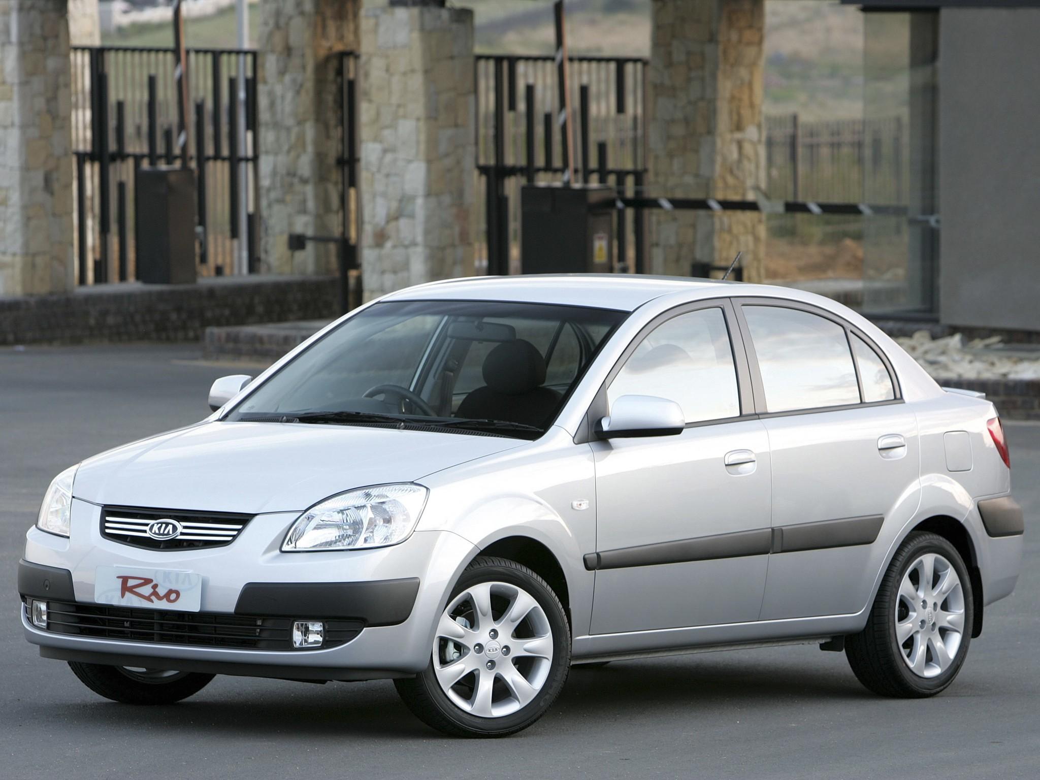 Kia Rio II 2005 - 2009 Sedan #4
