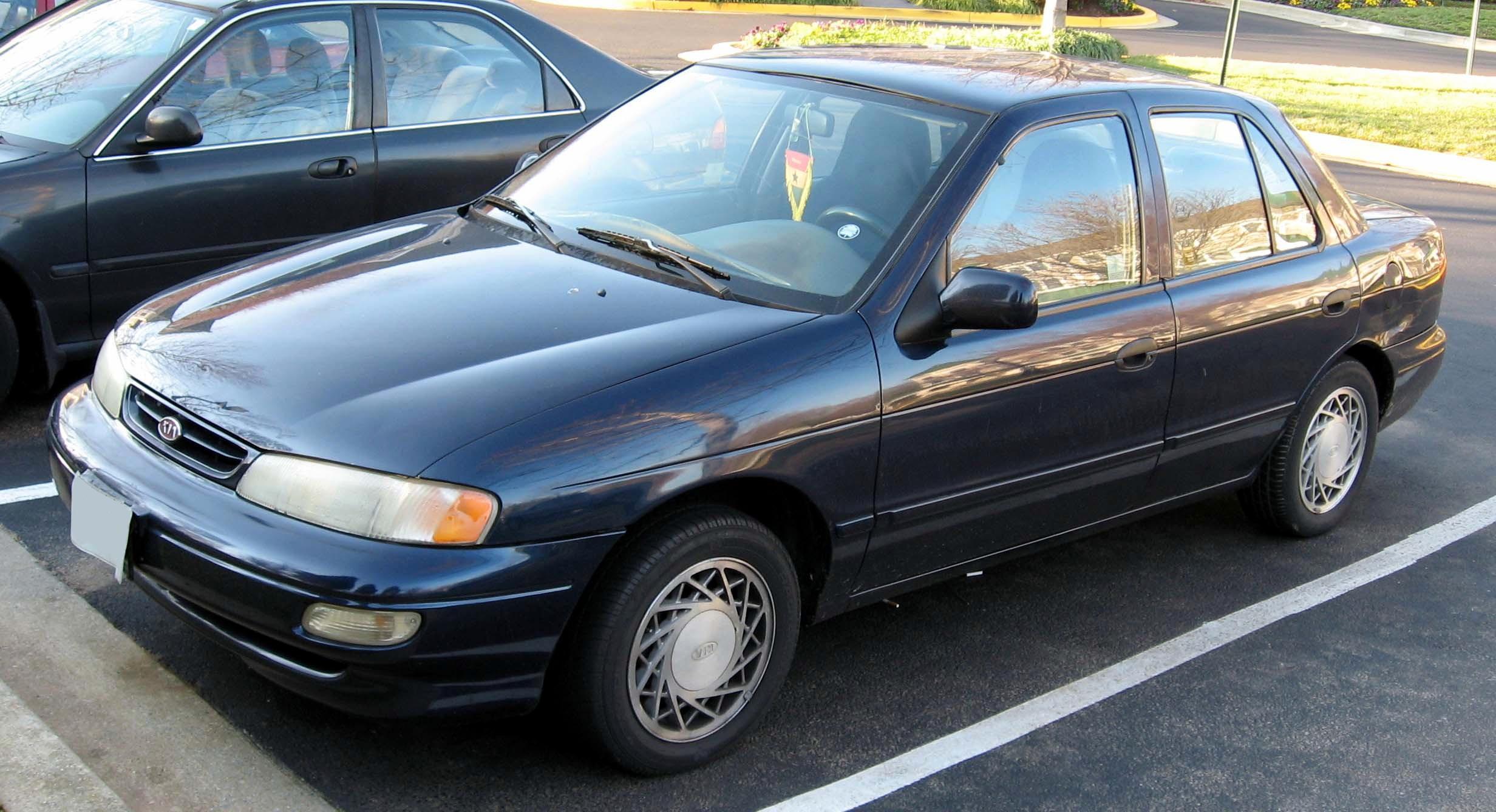 Kia Sephia I 1992 - 1994 Sedan #3
