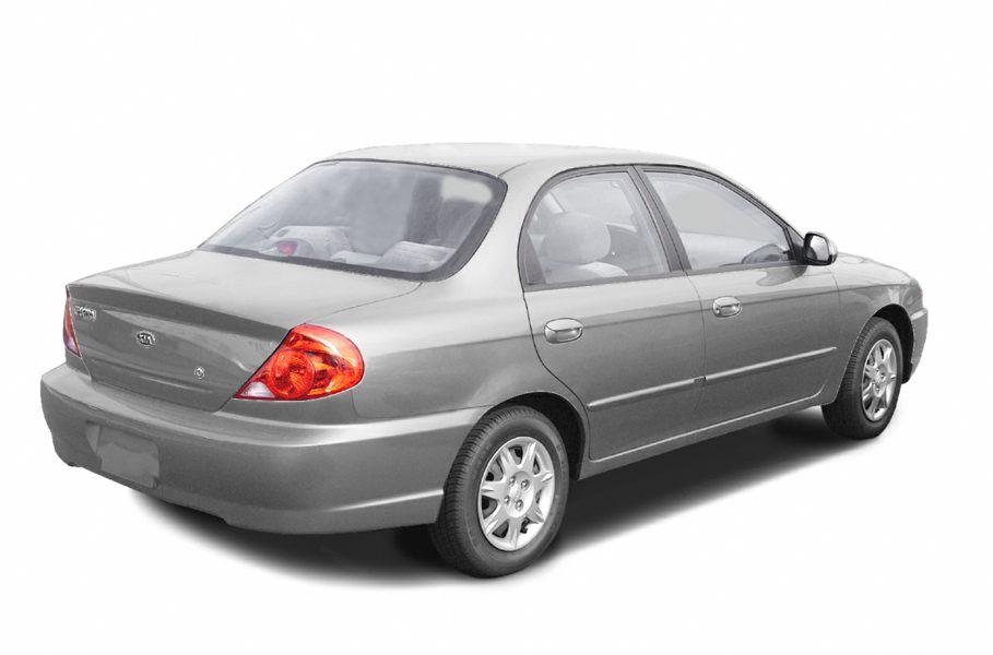 Kia Sephia II Restyling 2001 - 2004 Sedan #4