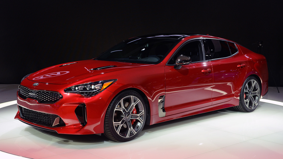 Kia Stinger I 2017 - now Liftback #1