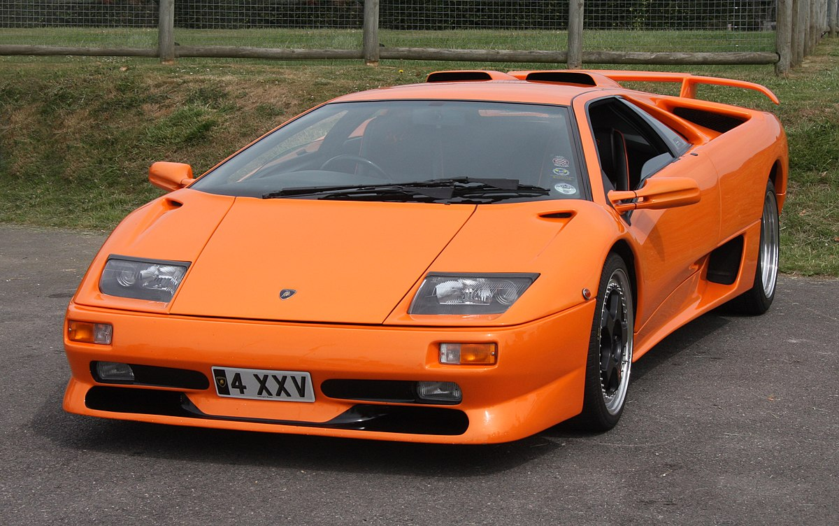Lamborghini Diablo 1990 - 2001 Coupe #7