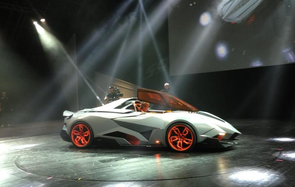 Lamborghini Egoista I 2013 2013 Coupe Outstanding Cars