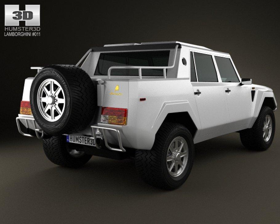 Lamborghini LM002 1986 - 1993 Pickup #6