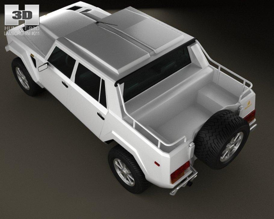 Lamborghini LM002 1986 - 1993 Pickup #1