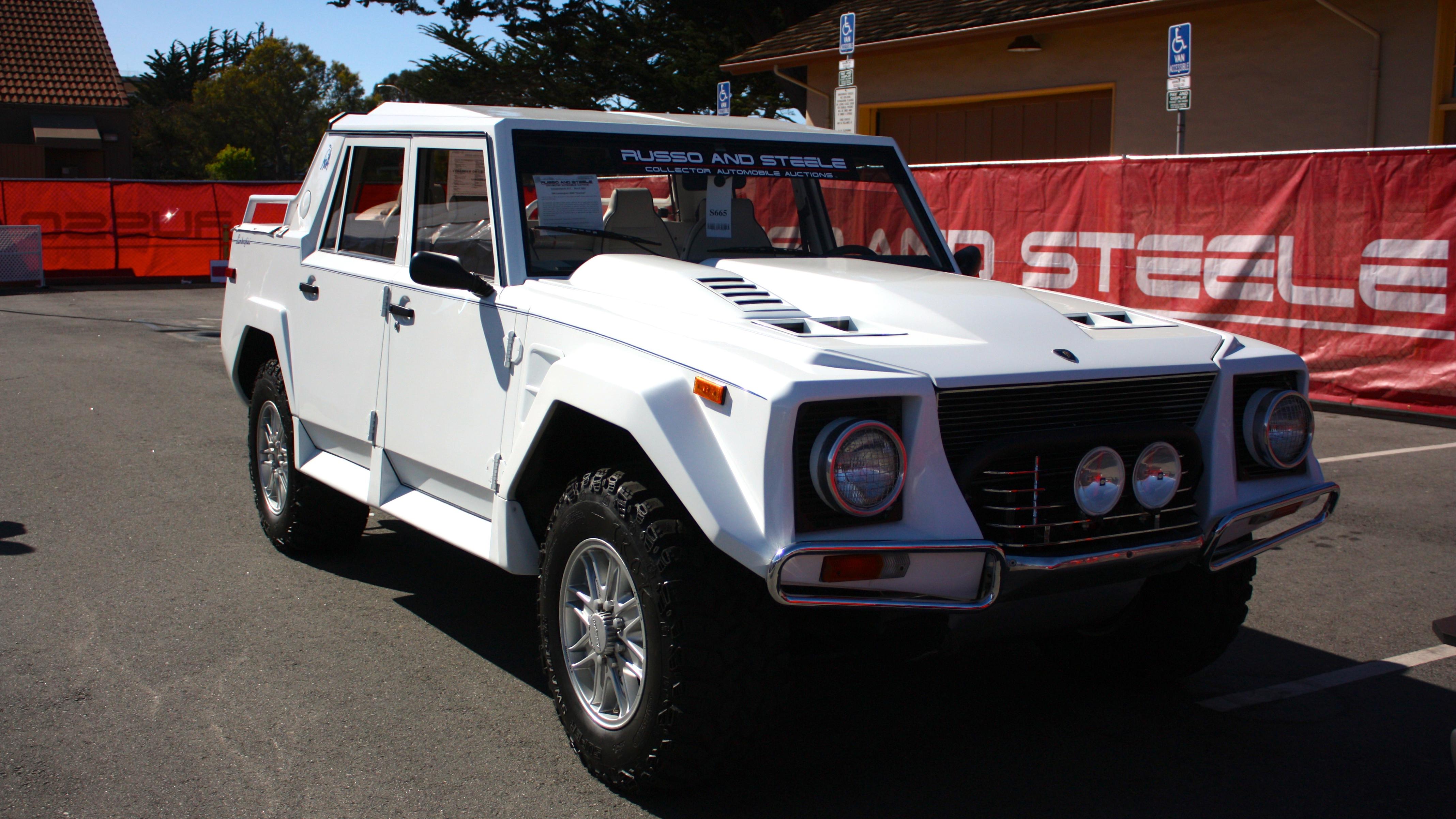 Lamborghini LM002 1986 - 1993 Pickup #3