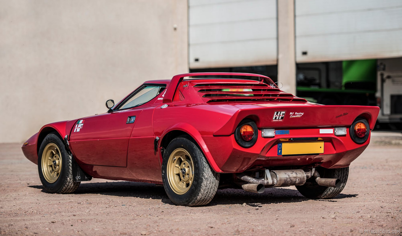 Lancia Stratos 1973 - 1978 Coupe :: OUTSTANDING CARS