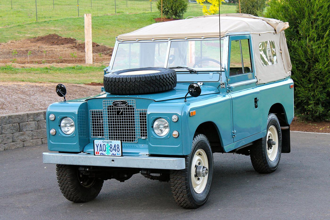 land rover series iii 1971 - 1985 suv 5 door :: outstanding cars