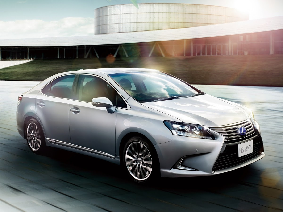 Lexus HS I Restyling 2013 - now Sedan #4