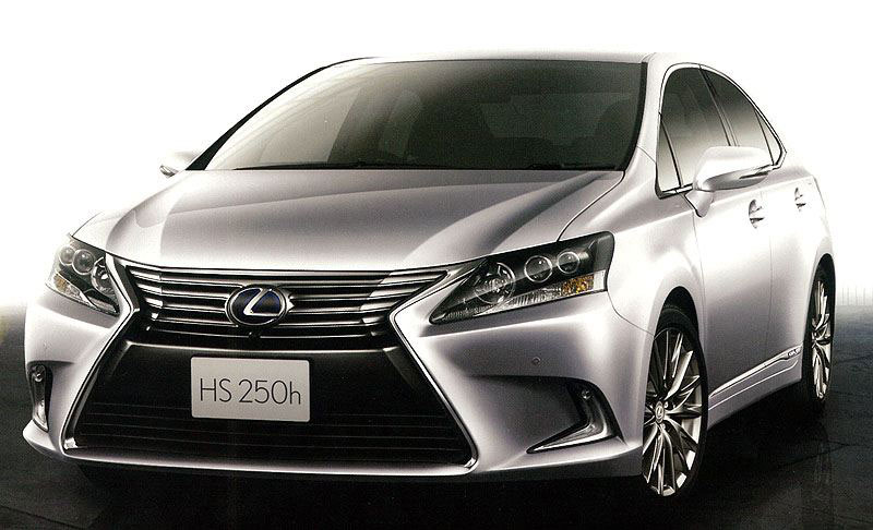 Lexus HS I Restyling 2013 - now Sedan #6