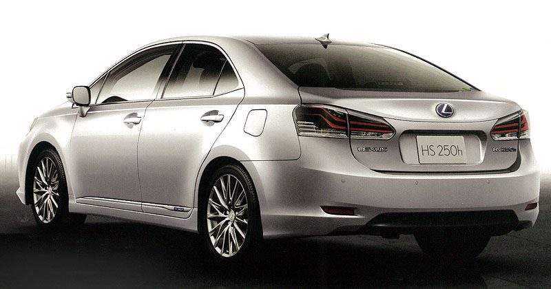 Lexus HS I Restyling 2013 - now Sedan #7