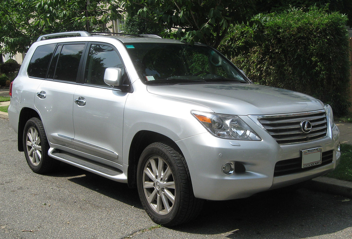 Lexus LX III Restyling 2 2015 - now SUV 5 door #1