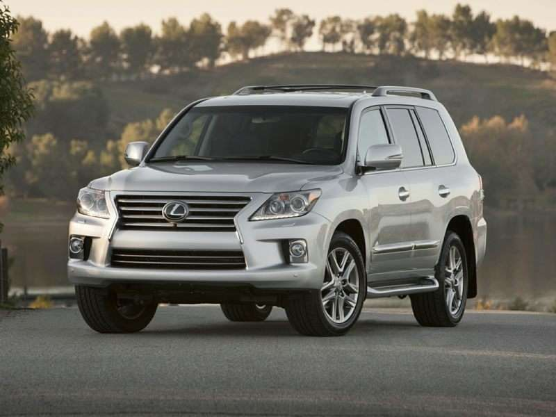 Lexus LX III Restyling 2 2015 - now SUV 5 door #7