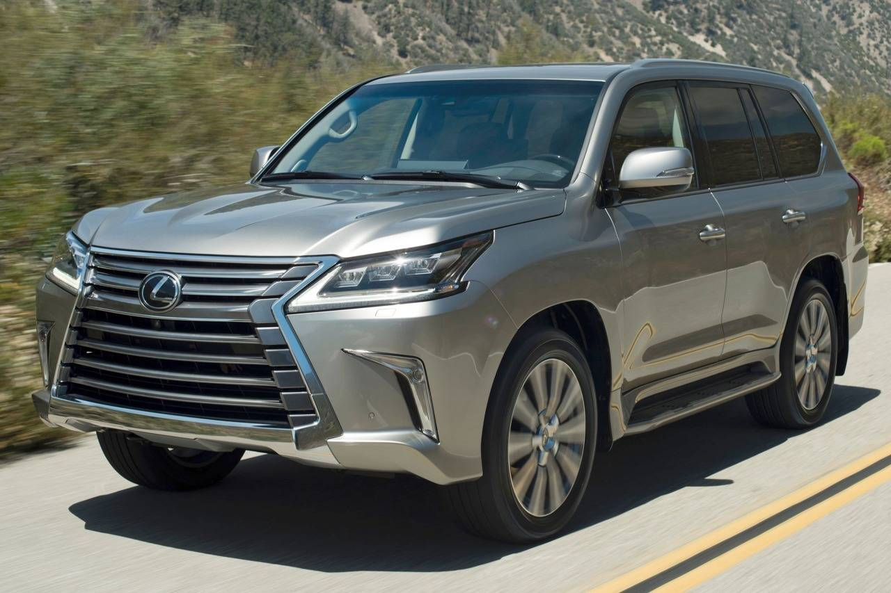 Lexus LX III Restyling 2 2015 - now SUV 5 door #8