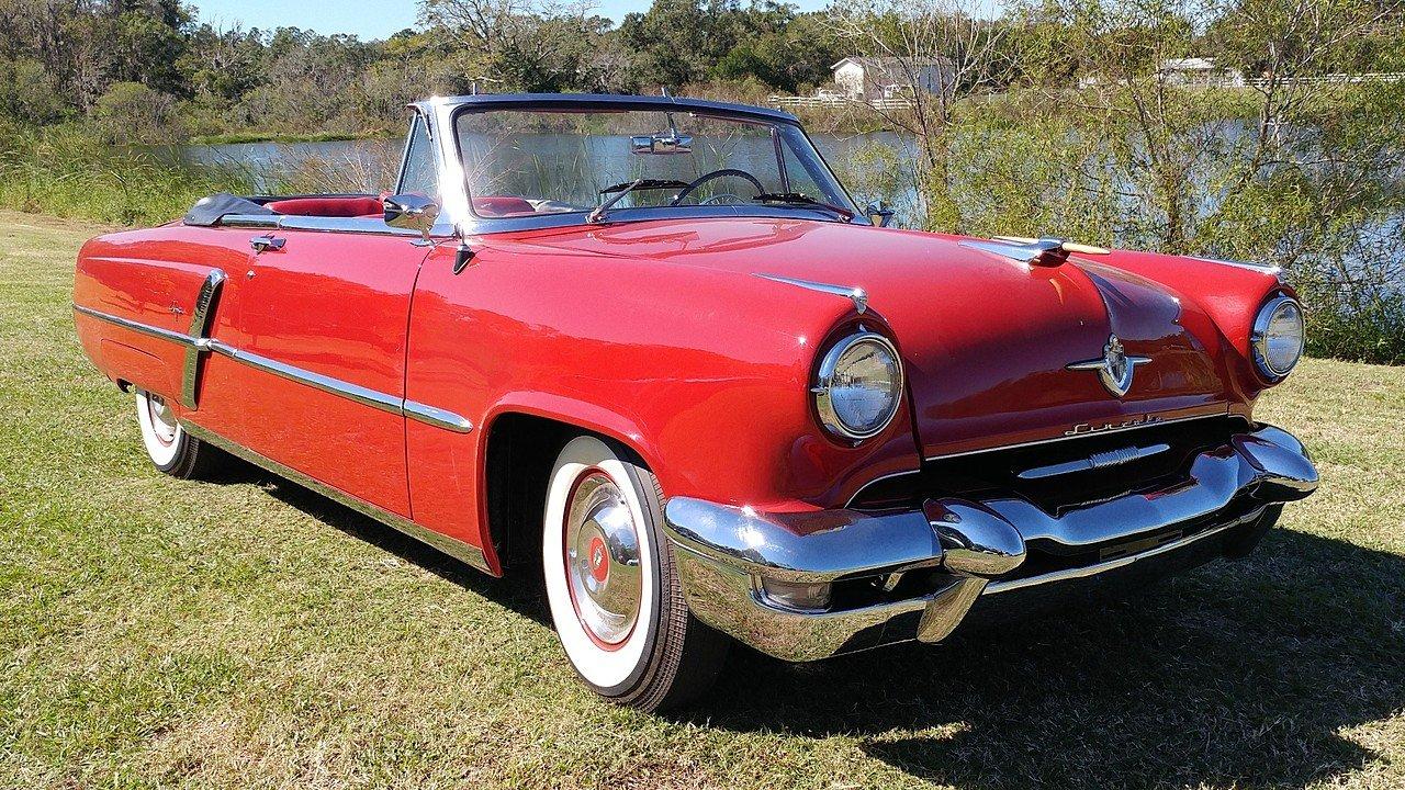 Lincoln Capri 1952 - 1959 Cabriolet #3