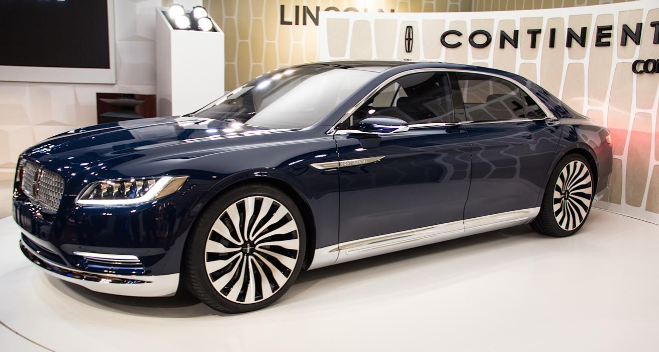 Lincoln Continental X 2016 - now Sedan :: OUTSTANDING CARS