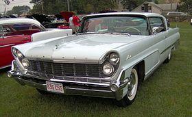 Lincoln Premiere 1955 - 1960 Coupe-Hardtop #7