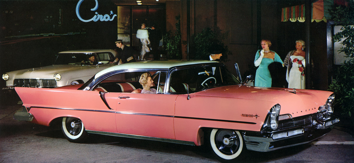 Lincoln Premiere 1955 - 1960 Coupe-Hardtop #2