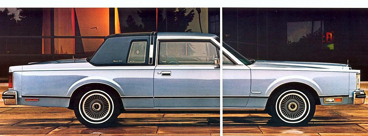 Lincoln Town Car I 1980 1989 Coupe Outstanding Cars