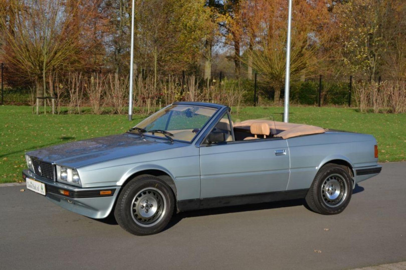 Maserati Biturbo 1981 - 1994 Cabriolet #2