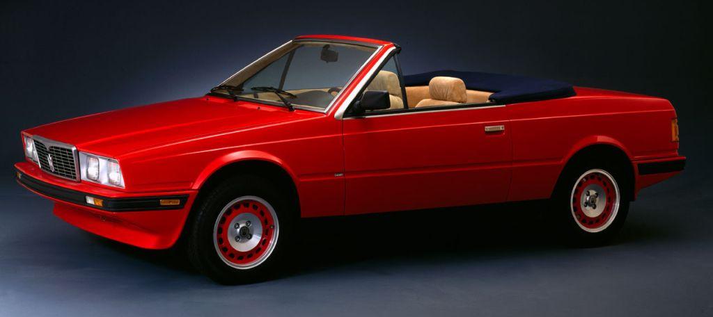 Maserati Biturbo 1981 - 1994 Cabriolet #6