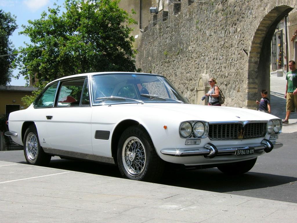 Maserati Mexico 1967 - 1972 Coupe #8