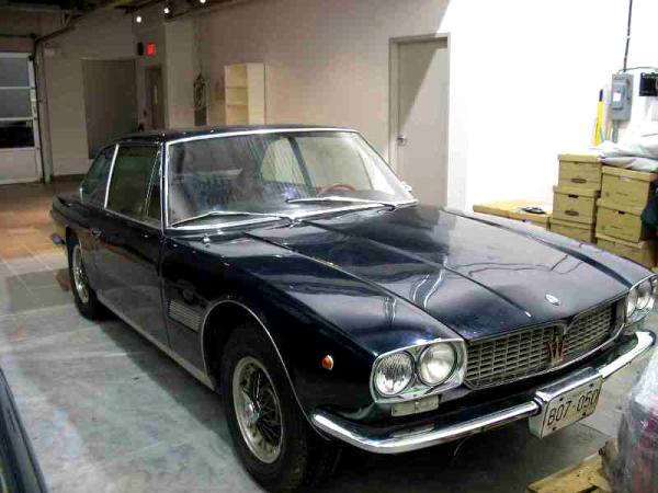 Maserati Mexico 1967 - 1972 Coupe #6